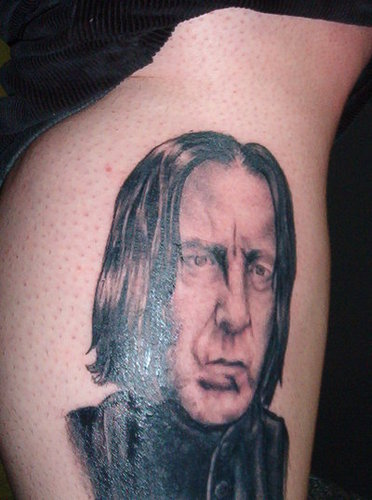 Snape on the body