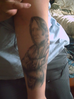 Snape tattoo? - severus-snape Photo