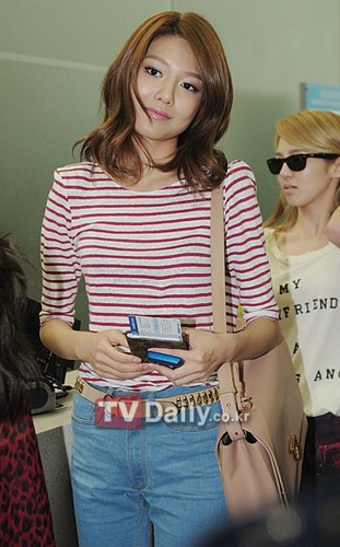 SooYoung At Incheon Airport