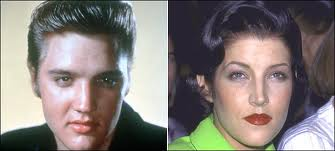 Elvis Aaron e Lisa Marie Presley wallpaper with a portrait called Sooo the same