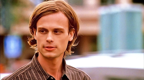 dr. spencer reid wallpaper possibly containing a portrait entitled Spencer