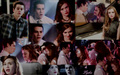 Stiles & Lydia - teen-wolf wallpaper