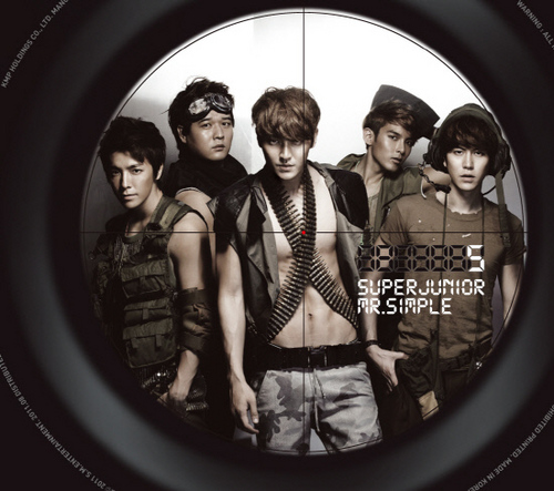 """Super Junior Mr. Simple """"Version B"""""""