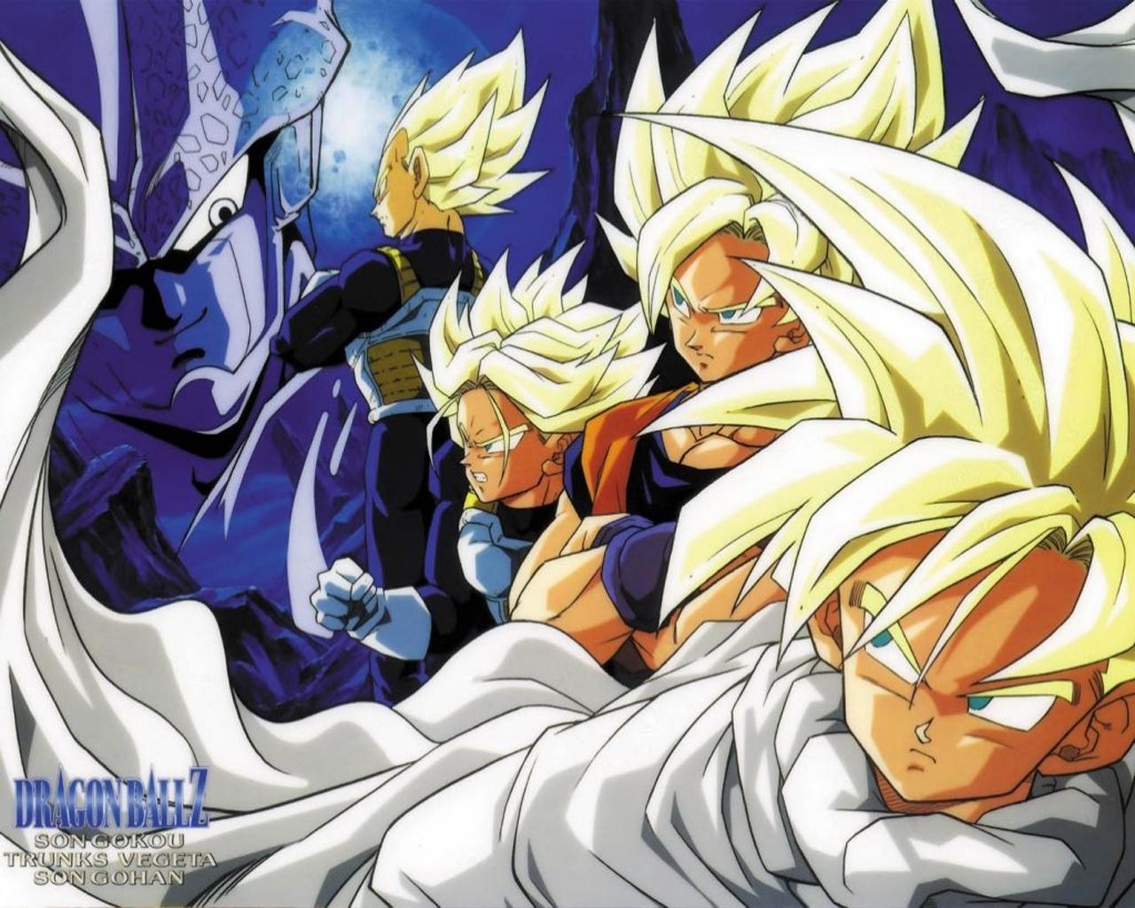 DBZ Fanfiction Super Saiyans VS. Cell