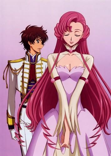 Suzaku and Euphemia