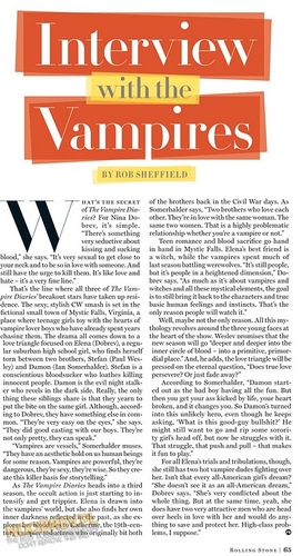 TVD in Rolling Stone,2011 Scans