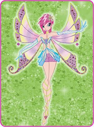 Winx Club Hintergrund entitled Tecna in Enchantix