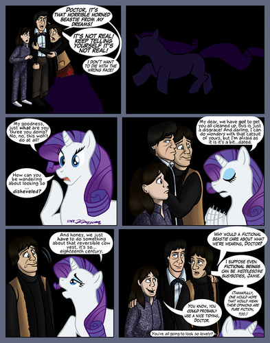 The Doctor Meets Rarity