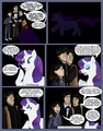 The Doctor Meets Rarity - xxxsk8trxxx fan art