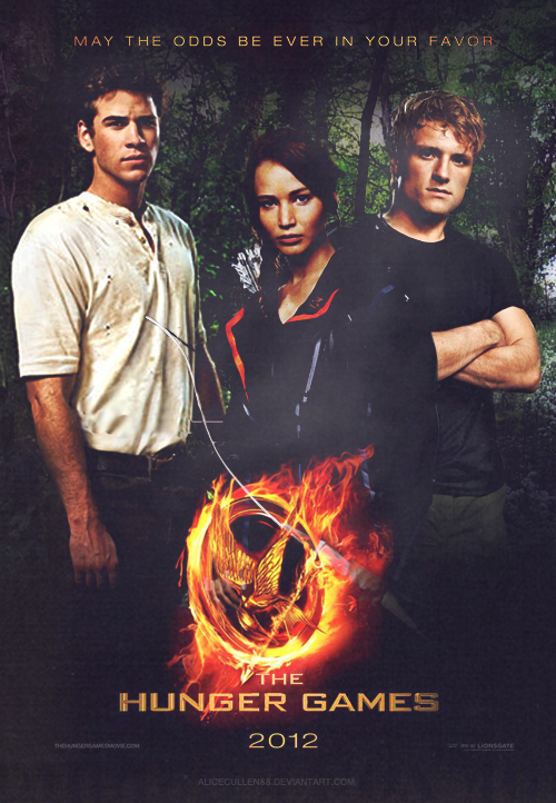 Hunger games movie poster