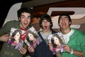 The Jonas brother get a magazine of DEMI LOVATO!!! - demi-lovato photo