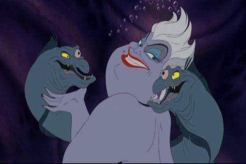 Walt 디즈니 Screencaps - Flotsam, Ursula & Jetsam