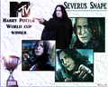 The MTV World Cup winner! - severus-snape wallpaper