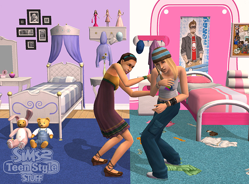 The sims 2 untucked teen