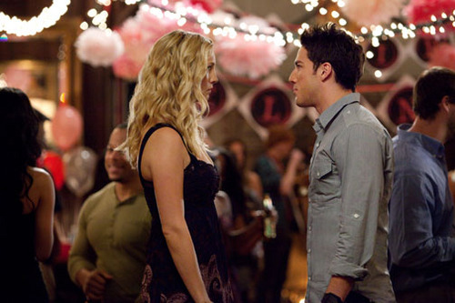 Tyler and Caroline - TVD Season 3 Still