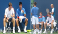 Tomas Berdych: He sees ,what he doing Djokovic! - youtube screencap