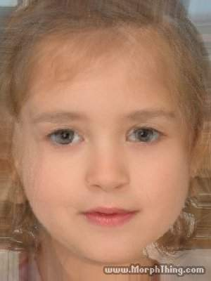 Tony and Ziva's Daughter (morphed)
