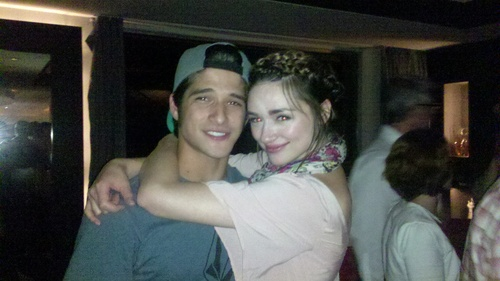 Tyler & Crystal - tyler-posey-and-crystal-reed Photo