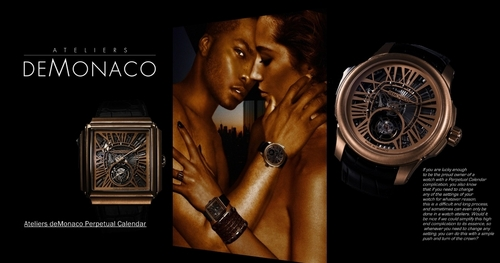 Ugo Osmunds In A Timepiece Ad 2011