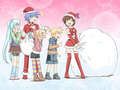 Vocaloid Christmas - vocaloids screencap