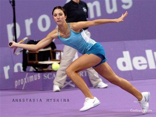 Anastasia Myskina in Reach for The Return
