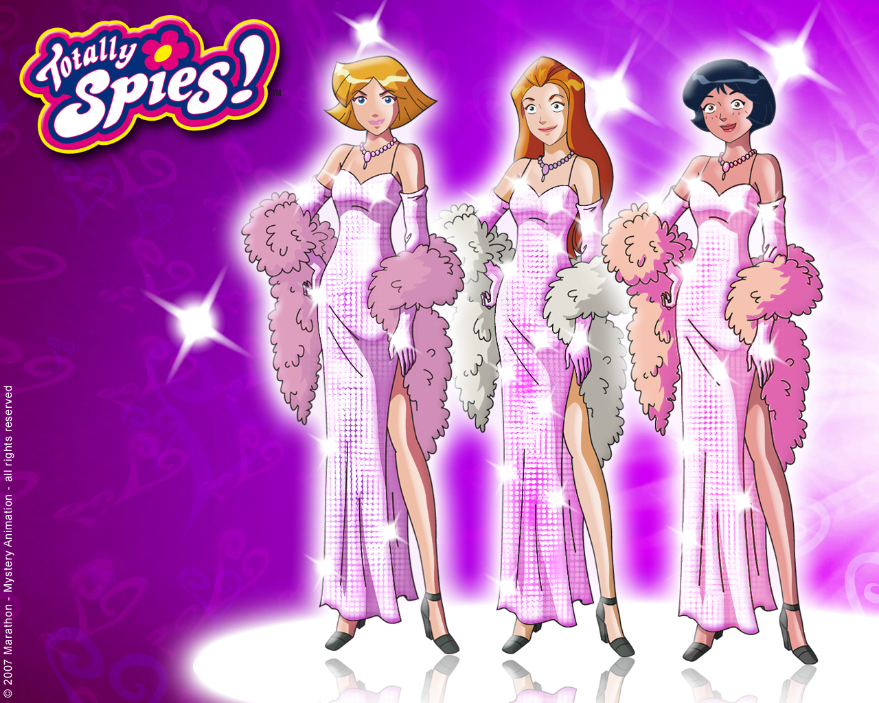 Wallpapers totally spies wallpaper 24647676 - Comment dessiner les totally spies ...