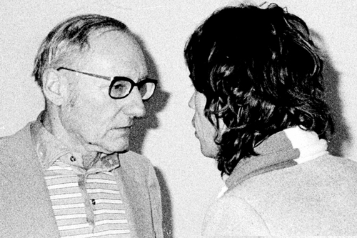 William S. Burroughs & Mick Jagger