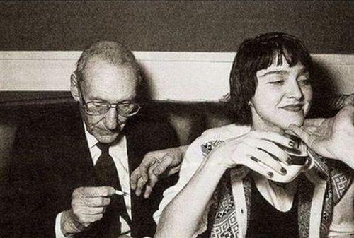 William S Burroughs Images William S Burroughs Amp Madonna