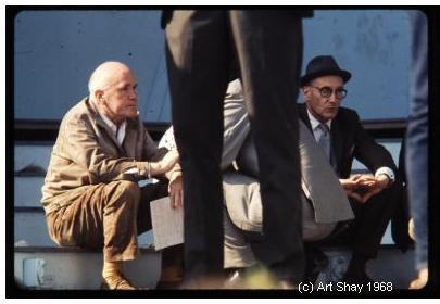 Jean Genet with William S. Burroughs