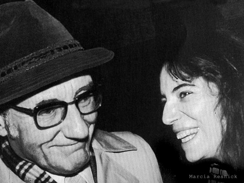 William S. Burroughs with Patti Smith