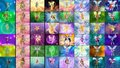 Winx Club All transformations