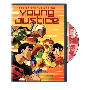 Young Justice On DVD!!!!