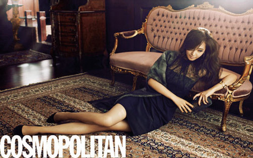 Yuri Featured in Cosmopolitan Magazine