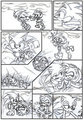 funny cute comic - sonic-and-amy photo