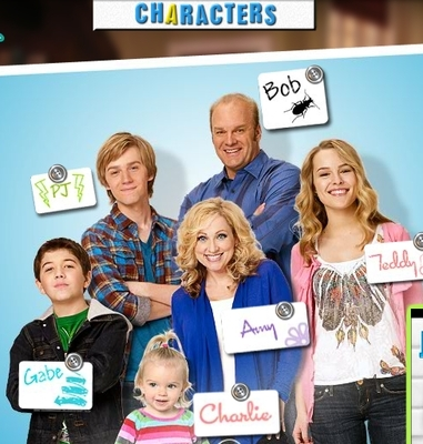gade and the member of good luck charlie