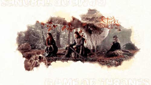 Cat, Ned & Bran