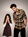 jacob and nessie :) - jacob-black-and-renesmee-cullen photo