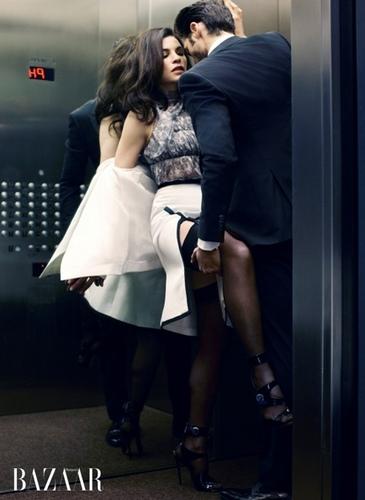julianna margulies on an elevator ride