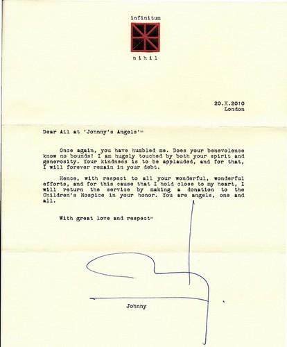 october 2010 letter 2 johnny's anges