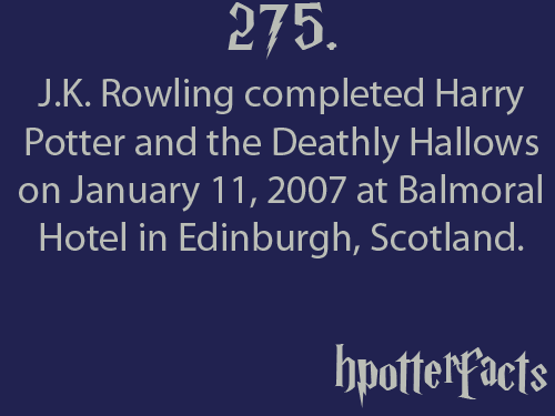 potter fact