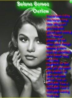 pretty selena>3 outlaw
