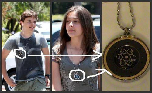 prince and Paris neckless
