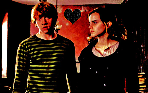 Romione wallpaper entitled r and h