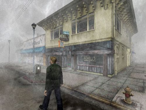 Silent Hill wallpaper with a street called silent Hill