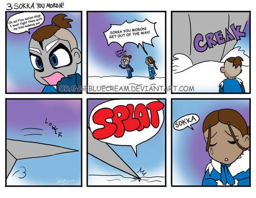 sokka comic