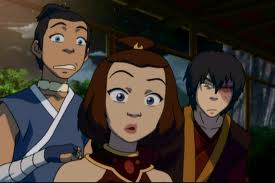sokka,suki and zuko