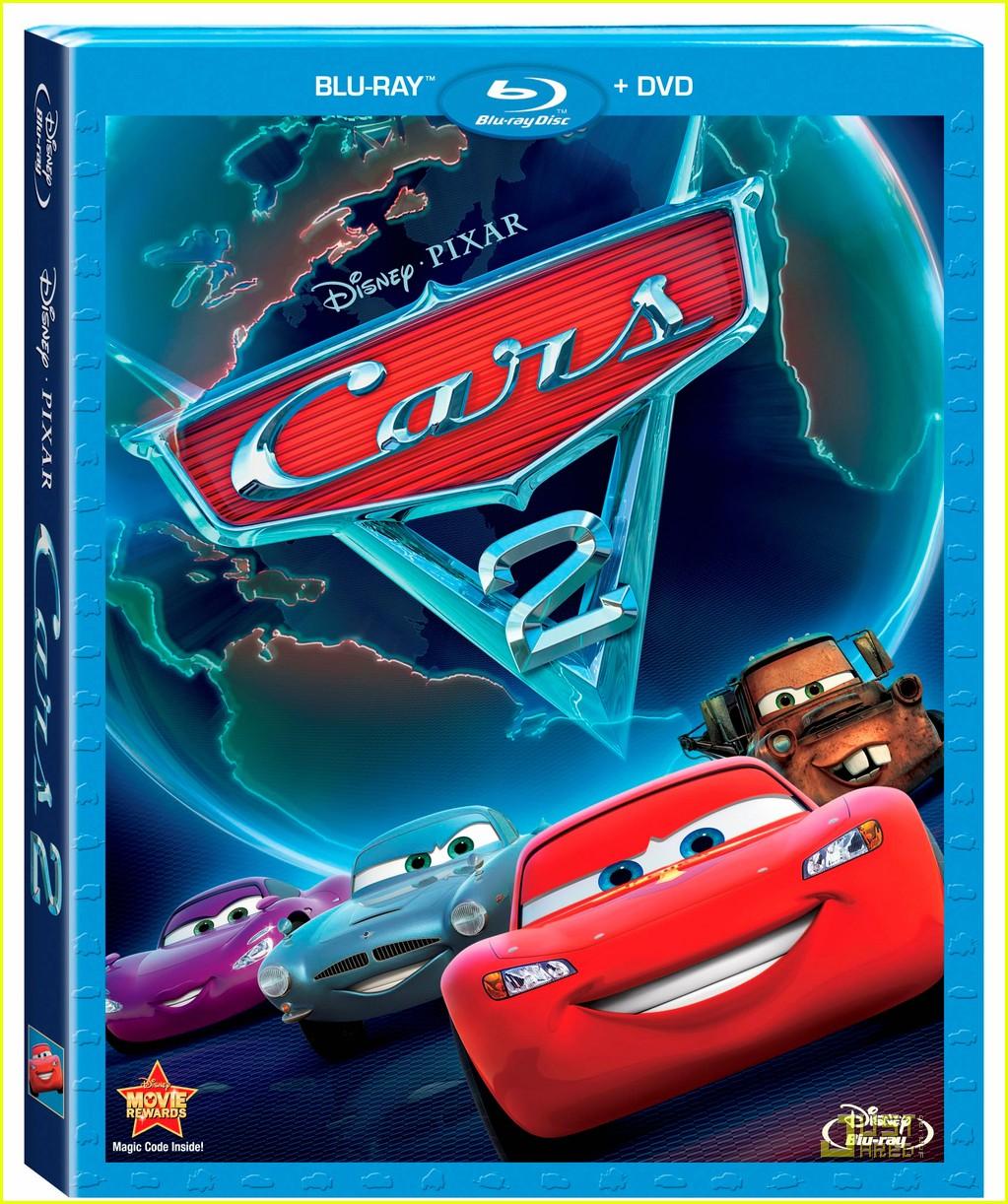 'Cars 2' on Blu-ray & DVD November 1!