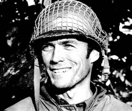 Clint Eastwood wallpaper possibly containing regimentals, a green beret, and a full dress uniform titled ☆ Clint Eastwood ~ Kelly's Heros