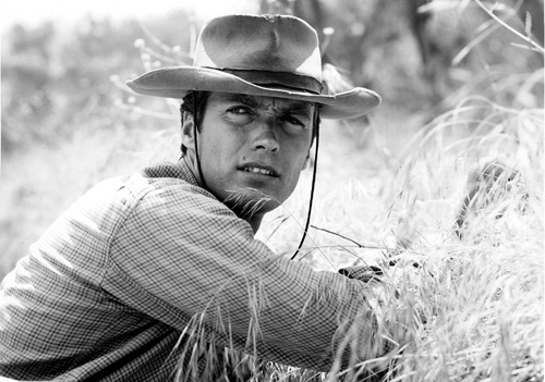 Clint Eastwood wolpeyper containing a boater, a fedora, and a snap brim hat called ☆ Clint Eastwood as Rowdy Yates ~ Rawhide