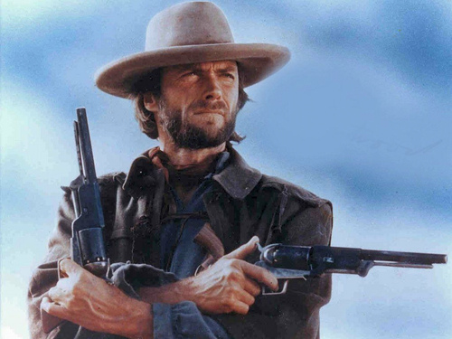 Clint Eastwood Hintergrund containing a rifleman, a green beret, and a gewehr entitled ☆ Clint Eastwood